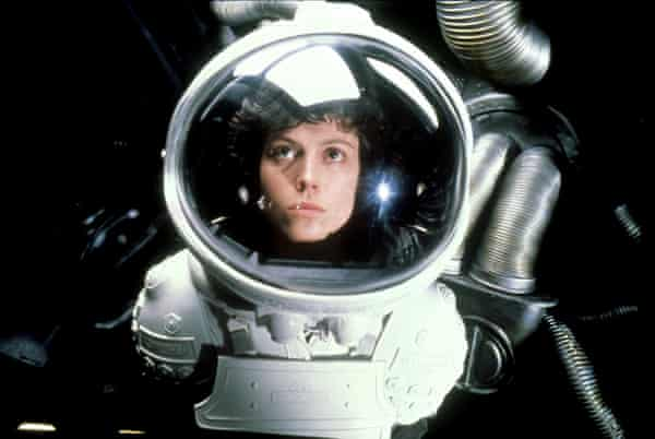 Real tensions … Sigourney Weaver as Ripley in Alien (1979).