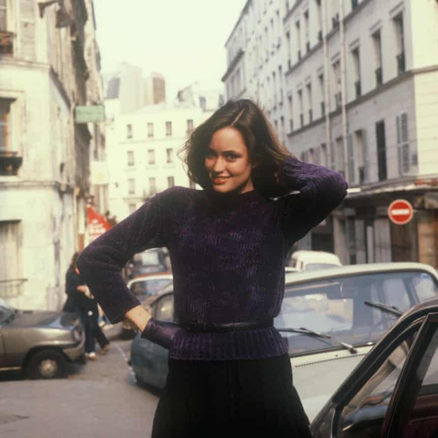Jill Dodd in Paris in 1980.