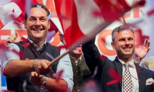 Hofer attends May Day celebrations in Linz.