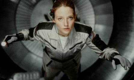 Jodie Foster as Ellie Arroway in the 1997 movie Contact, based on Carl Sagan's novel.