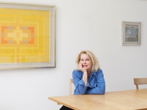 Laura Cumming at home in London