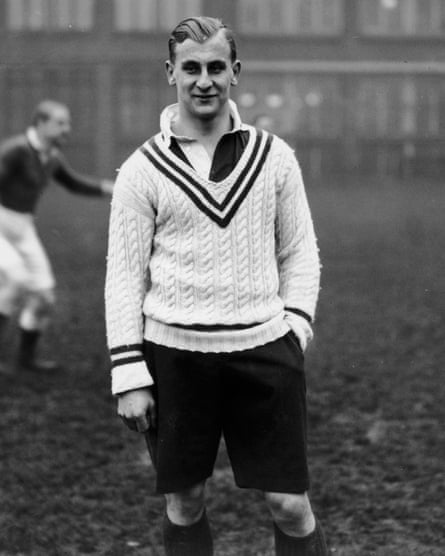 Prince Obolensky scored two superb tries in the first half against the All Blacks at Twickenham in January 1936.