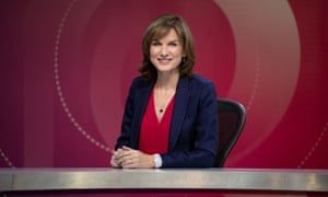 BBC presenter Fiona Bruce said she was surprised by the 'level of toxicity' on Question Time.