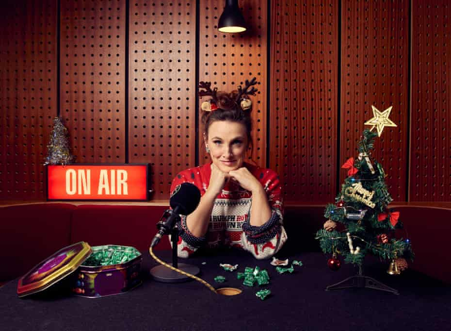 'I'll be the soundtrack to many other people having a really very peculiar Christmas...'