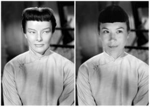 Katharine Hepburn in Dragon Seed