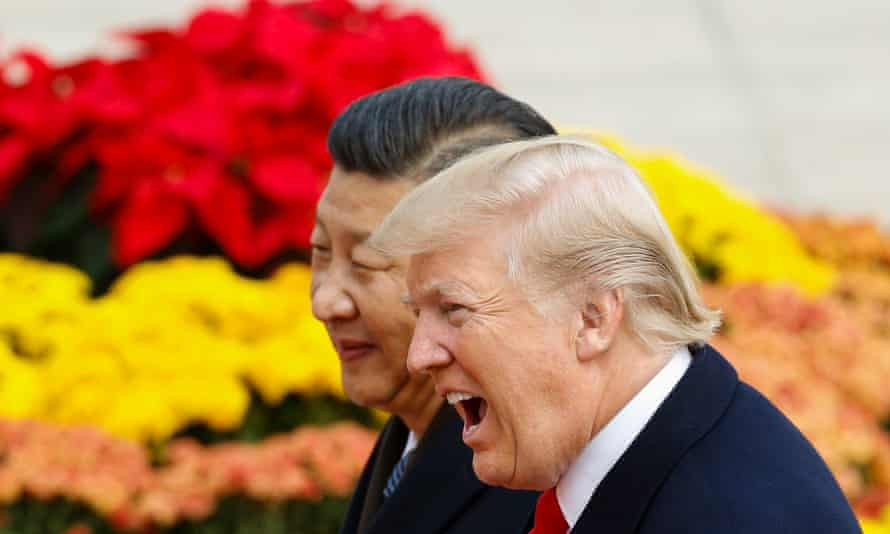 Donald Trump and his Chinese counterpart, Xi Jinping