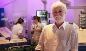 Prof Peter Fleming, whose research in the 1980s was crucial to the reduction of Sids death rates