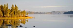 Lake near Lentiira, Finland