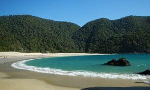 Caleta Cóndor beach, Chile