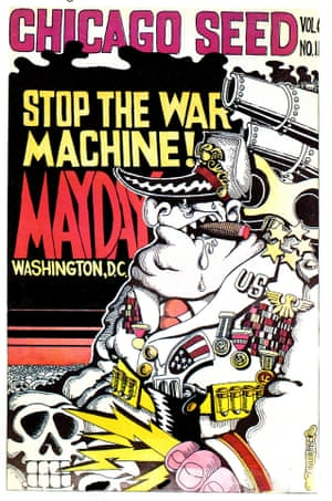 Chicago Seed -Stop the War Machine