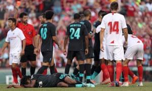 Liverpool's Yasser Larouci
