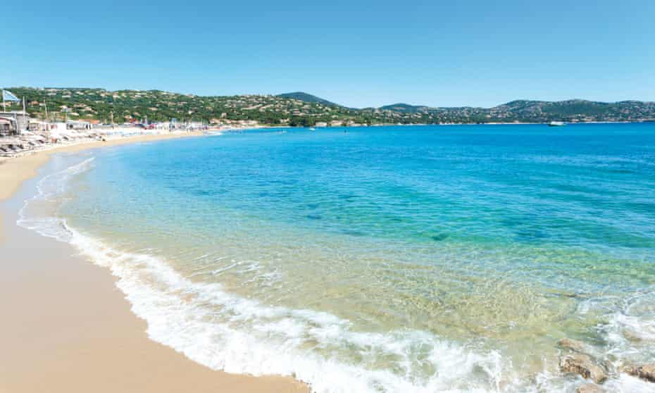 Plage de la Nartelle, a few kilometres north of Sainte-Maxime