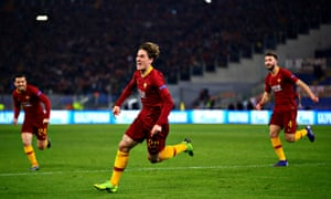 Roma beat Porto 2-1 in the Champions League thanks to two goals from Nicolo Zaniolo.
