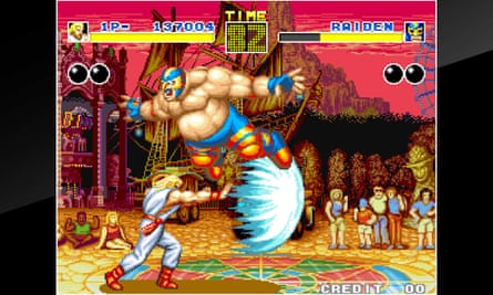 SNK's Fatal Fury game.