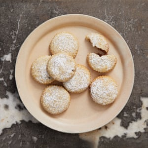 Middle-Eastern eccles cakes: date and walnut maamool.