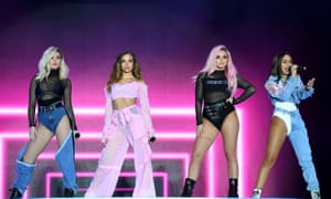 Little Mix at Capital FM's Summertime Ball in June 2017.