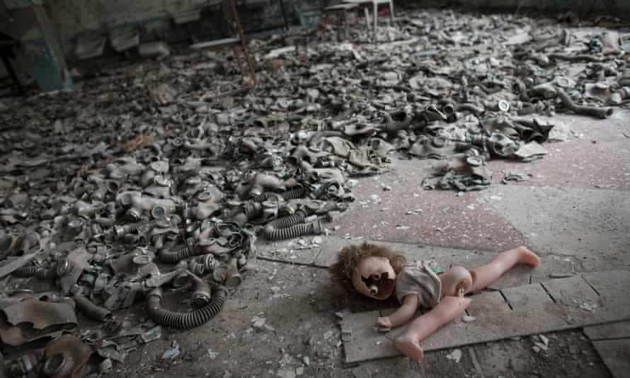 Children's gas masks.