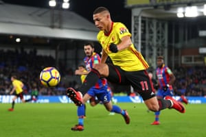 Richarlison scored two goals in his first five starts for Watford and three more in his next seven games.