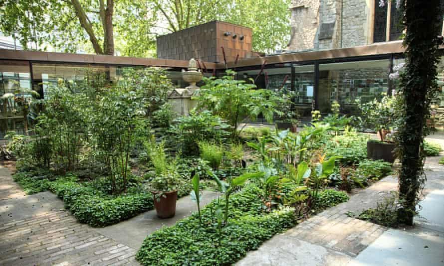 Tranquil … the Garden Museum.