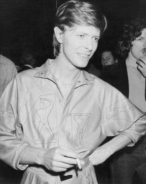 David Bowie, 1979.