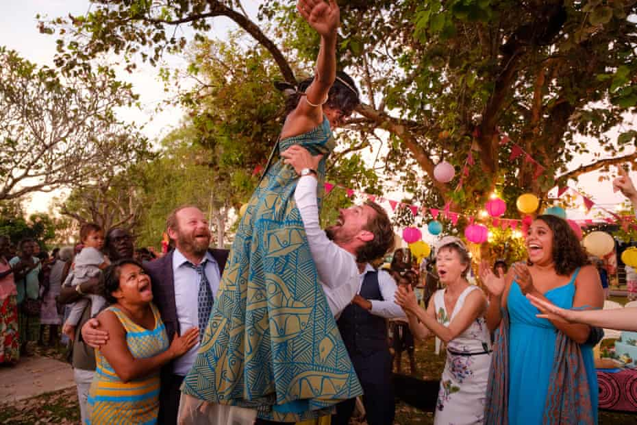 A still from Top End Wedding