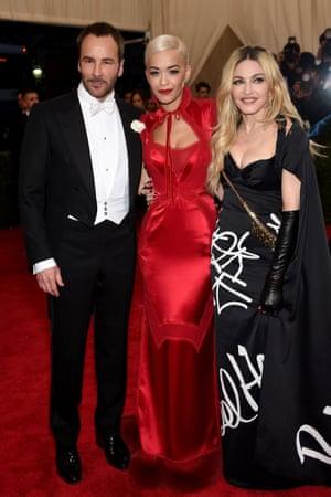 Tom Ford, Rita Ora and Madonna
