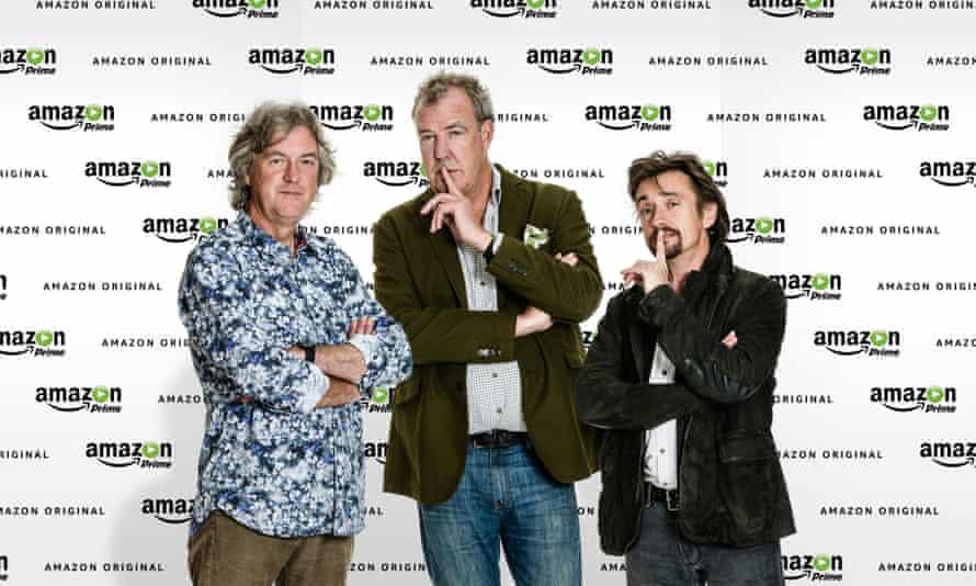 Say my name … James May, Jeremy Clarkson and Richard Hammond