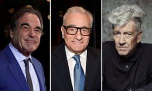 Oliver Stone, Martin Scorsese and David Lynch