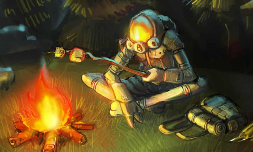 Triple award winner … sci-fi action puzzler Outer Wilds