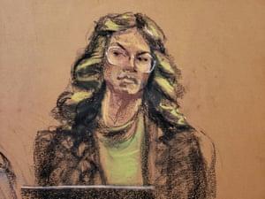 Witness Lauren Young said Weinstein groped her in a Los Angeles hotel bathroom in 2013.