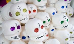 Pile of sugar skulls
