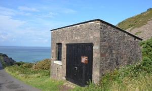 Foreland bothy, on the coast north of Countisbury.