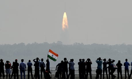 India launches record-breaking 104 satellites from single rocket