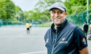 Farouk Hussain, Chance to Shine coach at Audley Infant School, Birmingham