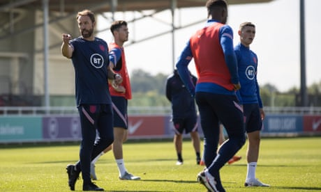 Gareth Southgate relishes England's blend of youthful joy and senior nous