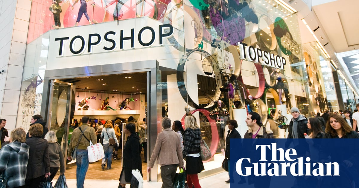 7704bdcd05a3a Topshop's decline marks the end of the high street's golden age ...