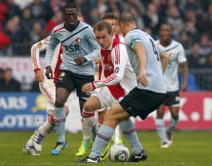 Christian Eriksen with Ajax in 2011. 'They played the kind of football the family wanted,' one his former coaches says.