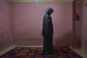 Homeless Somalia refugee Stahil