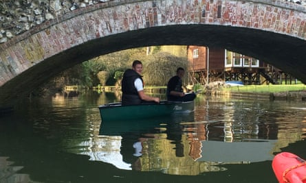 On the Thames with Henley Canoe Hire