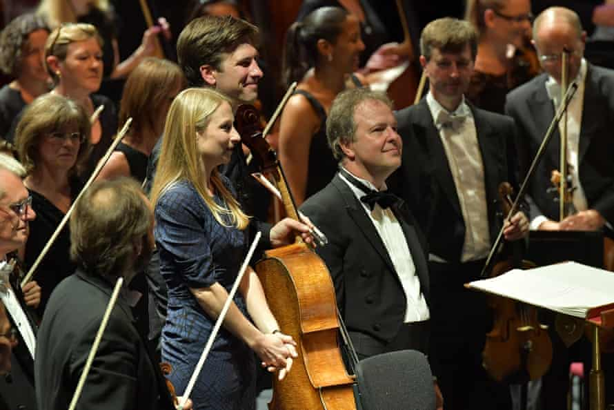 Composer Charlotte Bray joins cellist Guy Johnston, the BBC Symphony Orchestra and conductor Sakari Oramo following the world premiere of her new cello concerto at the Proms.