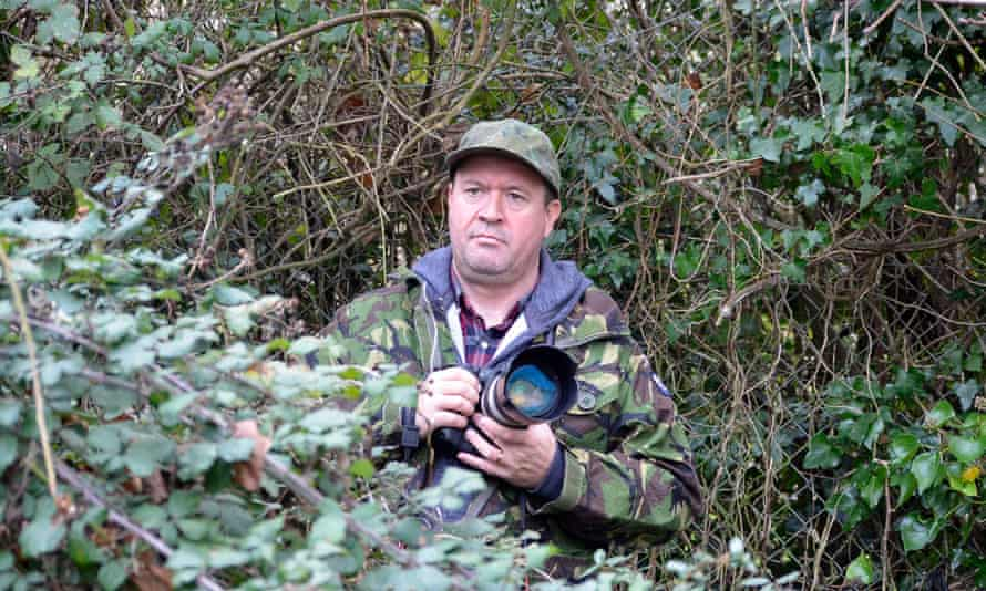 'I don't just take pictures. I make stories' ... George Bamby. Photograph: Channel 4