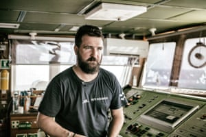Nik Romaniuk, of SOS Méditerranée