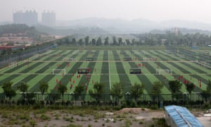 The Evergrande Football School in Qingyuan is an impressive example of increasing investment in the sport in China