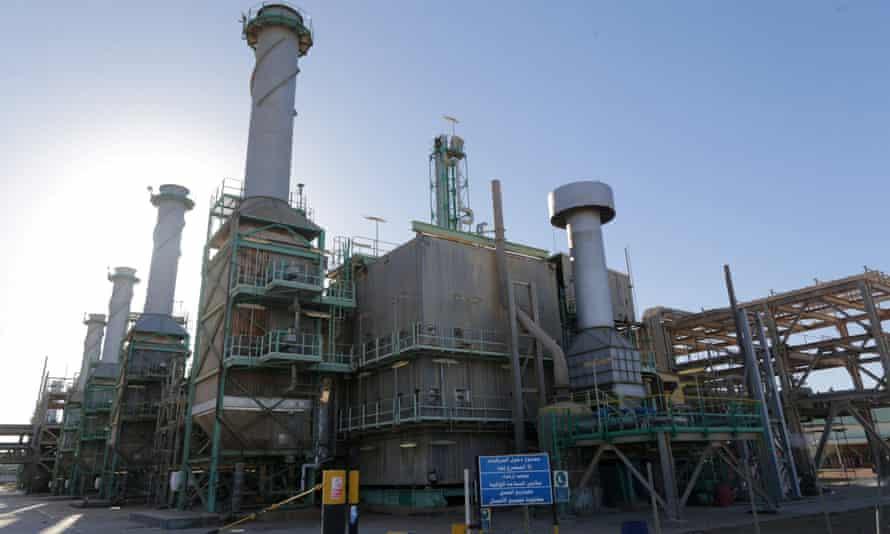 Ras Lanuf is Libya's most important oil refinery.