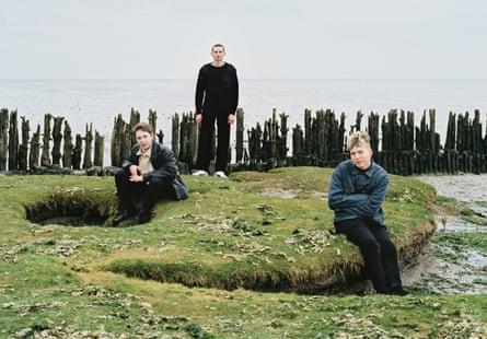 Elias Elgerma, Erik Woudwijk and Jaap van der Velde of the Homesick.