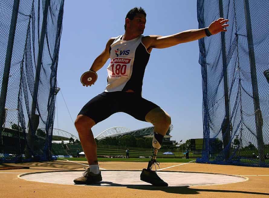 Athlete Don Elgin