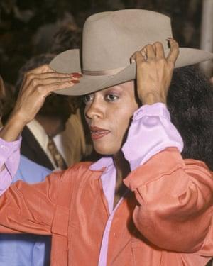 Diana Ross in 1979