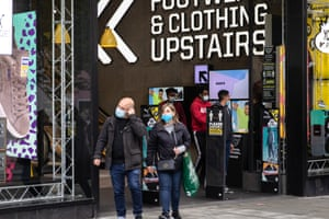 The entrance of JD Sports shop in London this year