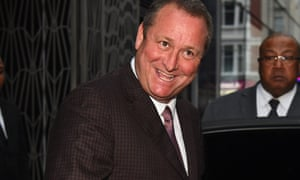 Mike Ashley grinning