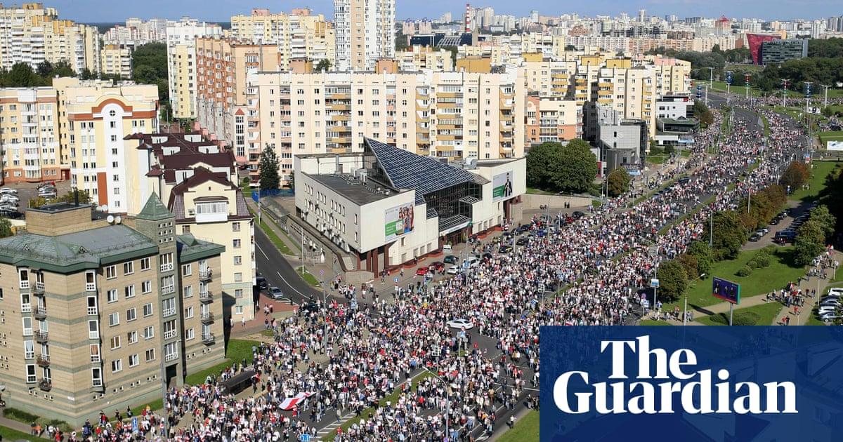 Belarus: 100000 join rally against Lukashenko on eve of Putin showdown – The Guardian